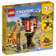 LEGO Creator 3in1 Casuta in copac cu animale salbatice din safari