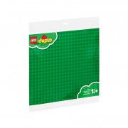 LEGO® DUPLO Placă mare, verde pentru construcţii
