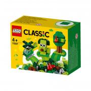 LEGO Classic Cărămizi creative verzi (11007)