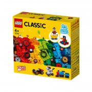 LEGO Classic Cărămizi și roți (11014)