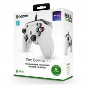 Nacon Pro Compact controller (Alb)
