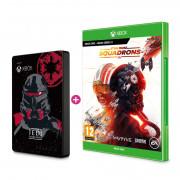 SEAGATE Xbox 2TB HDD Jedi skin + Star Wars Squadrons (Xbox) Bundle