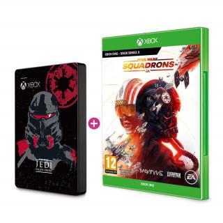 SEAGATE Xbox 2TB HDD Jedi skin + Star Wars Squadrons (Xbox) Bundle Xbox Series