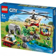 LEGO City Operațiune de salvare a animalelor sălbatice (60302)