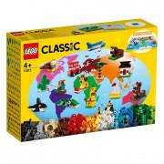 LEGO Classic În jurul lumii (11015)
