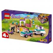 LEGO Friends Dresaj de cai și remorcă (41441)