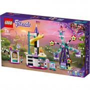 LEGO Friends Roată și tobogan magic (41689)
