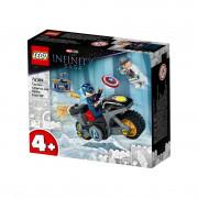 LEGO Super Heroes Înfruntarea dintre Captain America și Hydra (76189)
