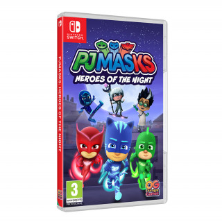 Pj Masks: Heroes Of The Night Nintendo Switch