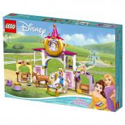 LEGO Disney Princess Grajdurile regale ale lui Belle și Rapunzel (43195)