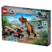 LEGO Jurassic World Urmărirea dinozaurului Carnotaurus (76941)
