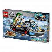 LEGO Jurassic World Evadarea cu barca a dinozaurului Baryonyx (76942)