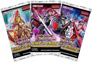 Yu-Gi-Oh! Kings Court Booster Pack (1buc) Cadouri