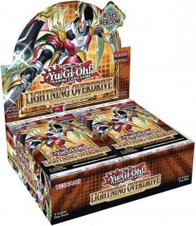 Yu-Gi-Oh! Lightning Overdrive Booster Display Box Cadouri