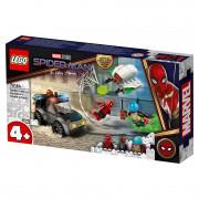 LEGO Super Heroes Omul Păianjen contra Atacul dronei lui Mysterio (76184)
