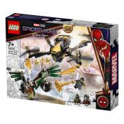 LEGO Super Heroes  Duelul cu dronă al Omului Păianjen (76195)