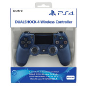 PlayStation 4 (PS4) Dualshock 4 Controller (Midnight Blue)