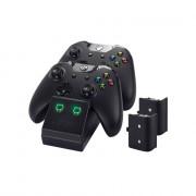 Venom VS2851 Xbox One Negru stație încărcare + 2 buc acumulatoare