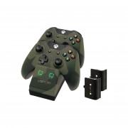 Venom VS2857 Xbox One camouflage stație încărcare + 2 buc acumulatoare