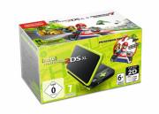 New Nintendo 2DS XL (Negru & Verde Lime) + Mario Kart 7