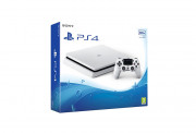 PlayStation 4 (PS4) Slim 500GB Glacier White (Alb)