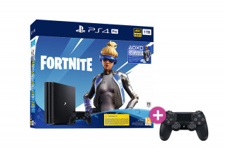 PlayStation 4 (PS4) Pro 1TB + Fortnite Neo Versa Bundle + Controller PS4 Sony Dualshock 4  PS4