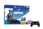 PlayStation 4 (PS4) Slim 500GB + pachet Fortnite Neo Versa + PS4 Sony Dualshock 4 Controller