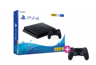 Playstation 4 (PS4) Slim 500GB + Controller PS4 Sony Dualshock 4 PS4