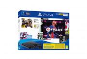 PlayStation 4 (PS4) Slim 500GB + FIFA 21 + controller DualShock 4