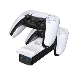 VENOM VS5001 PS5 white double charging station PS5