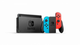 Nintendo Switch (Roșu-Albastru) (Nou) Nintendo Switch