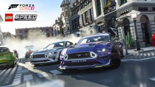 Xbox One S 1TB + Forza Horizon 4 LEGO Speed Champions + FIFA 21 + Gears of War 4 + controller adițional (alb) Xbox One