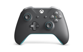 Xbox One Wireless Controller (Grey/Blue) Xbox One